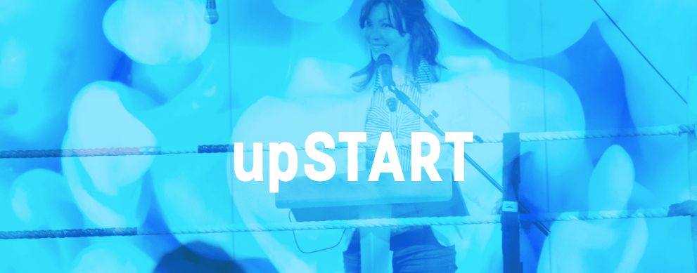 The upSTART '18 pitching startups at Digital DNA 2018